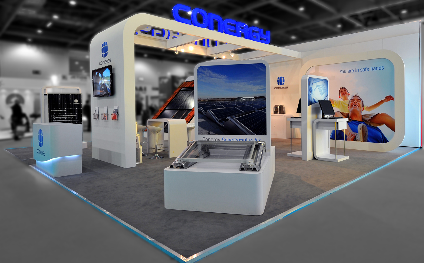 Exhibition Stand Design For Conergy