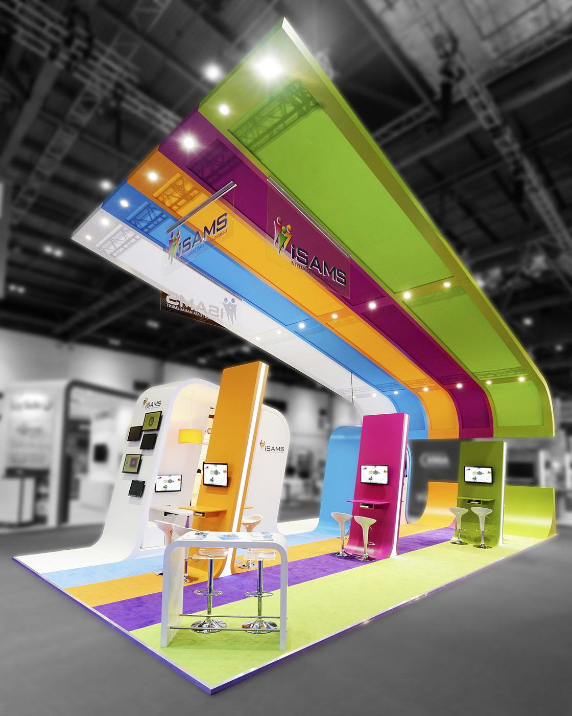 Simple Exhibition Stand Goals : Exhibition stand design ox p