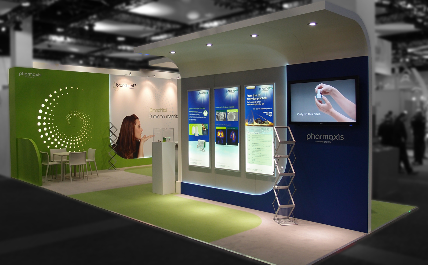 Exhibition Stand Design For Conergy Ox2p