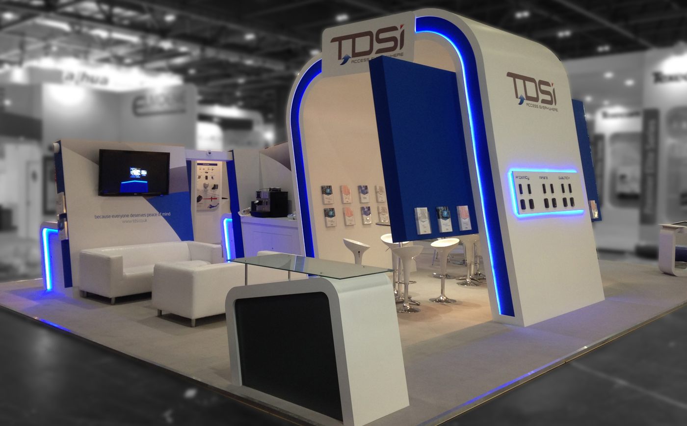 Exhibition Stand Design For TDSI